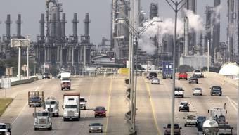 Die Ölraffinerie Deer Park von Shell (Archiv)