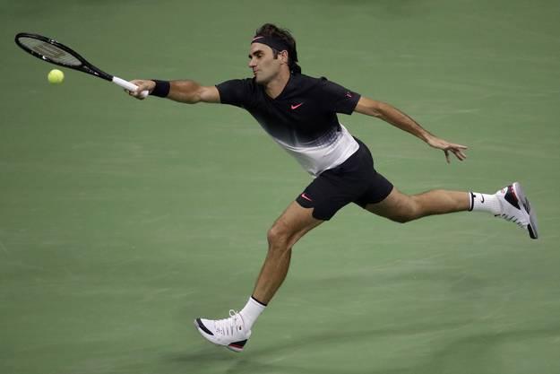 Während der gesamten Partie muss Federer keinen einzigen Breakball abwehren.