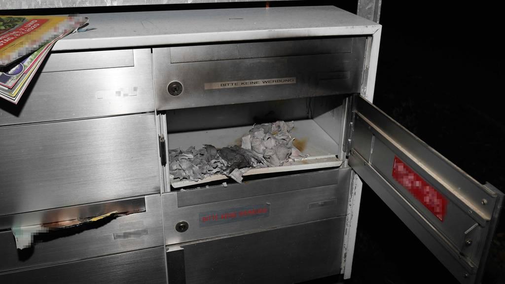 Brandstiftung in Goldacher Quartier: Auto und Briefkästen angezündet