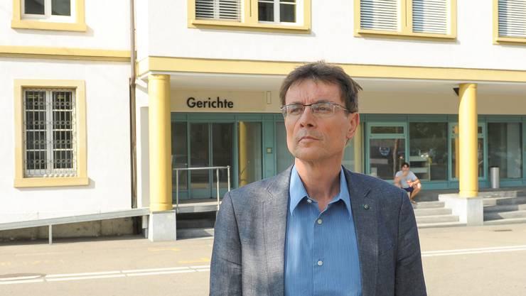 Lehrer Martin Rüegg blitzte vor dem Kantonsgericht Baselland ab.