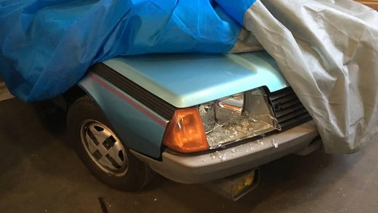 In einer Abstellhalle in Riedholz wurden «Youngtimer» (30- bis 40-jährige Autos) und Oldtimer beschädigt.