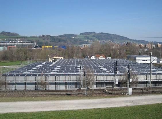 St. Gallen, Anlage mit 268 kW Spitzenleistung