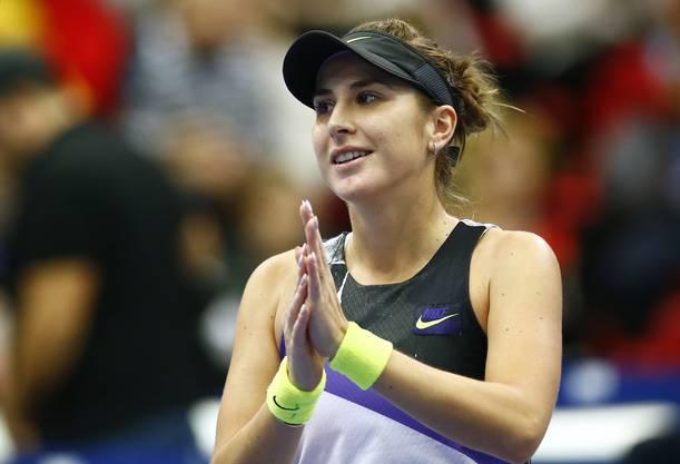 Belinda Bencic gehört bei den Australian Open, in Wimbledon und bei den US Open zu den Anwärterinnen auf den Turniersieg.