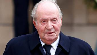 Spaniens Altkönig Juan Carlos. Key