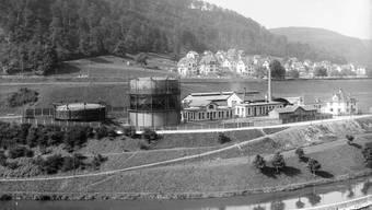 Dahinter die Villen und Wohnhäuser, die nach 1900 im oberen Kappelerhof erbaut wurden.