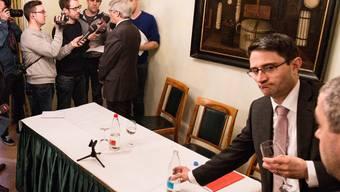 Der Nachfolger steht bereit: Bald schon ist Lukas Engelberger (rechts) und nicht mehr Carlo Conti (links) im Fokus der Öffentlichkeit.