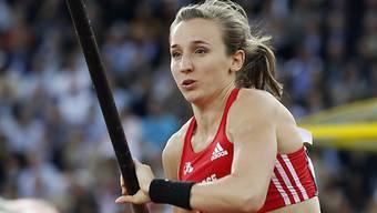 Nicole Büchler flog nur knapp am nationalen Rekord vorbei