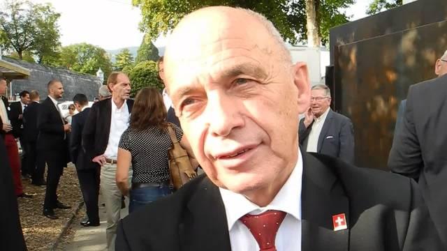 Ueli Maurer zu seinem Besuch an der 40. Solothurner Herbstmesse