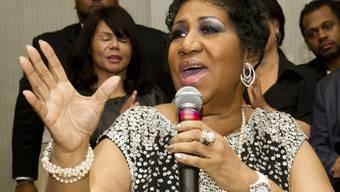 Krankgeschrieben: Sängerin Aretha Franklin (Archiv)