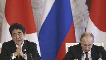 Shinzo Abe und Wladimir Putin