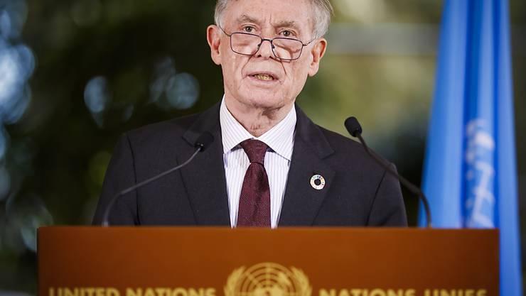 Der deutsche Altbundespräsident Horst Köhler legt sein Amt als Uno-Sonderbeauftragter für den Westsahara-Konflikt nach knapp zwei Jahren nieder. (Archivbild)