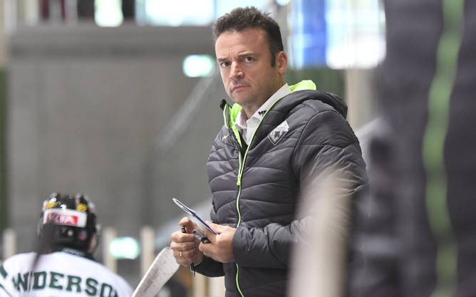 Grimmiger Blick: Thurgau-Trainer Stephan Mair gilt als impulsiv und verbissen.