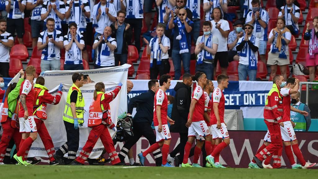 UEFA gerät nach Eriksens Kollaps in die Kritik