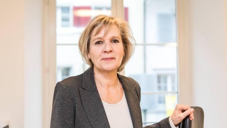 Sie möchte Reformen nicht nur anstossen, sondern auch umsetzen: Brigit Wyss, gelernte Schreinerin und Psychiatrie-Krankenschwester, heute Juristin.