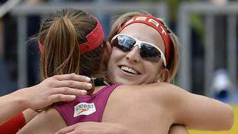 Tanja Goricanec (r.) und Tanja Hüberli spielen um EM-Gold