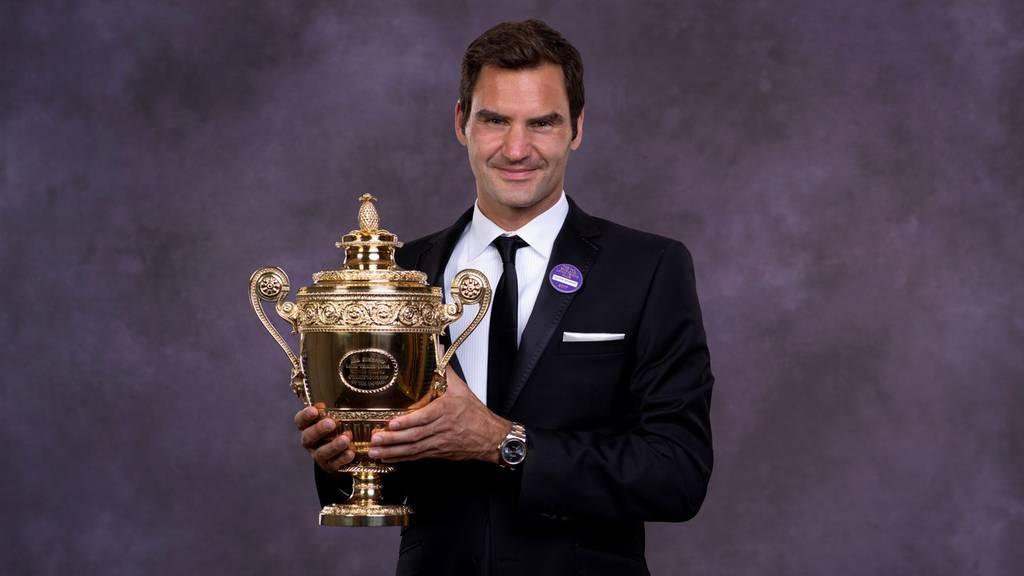 Roger Federer gewinnt Wimbledon