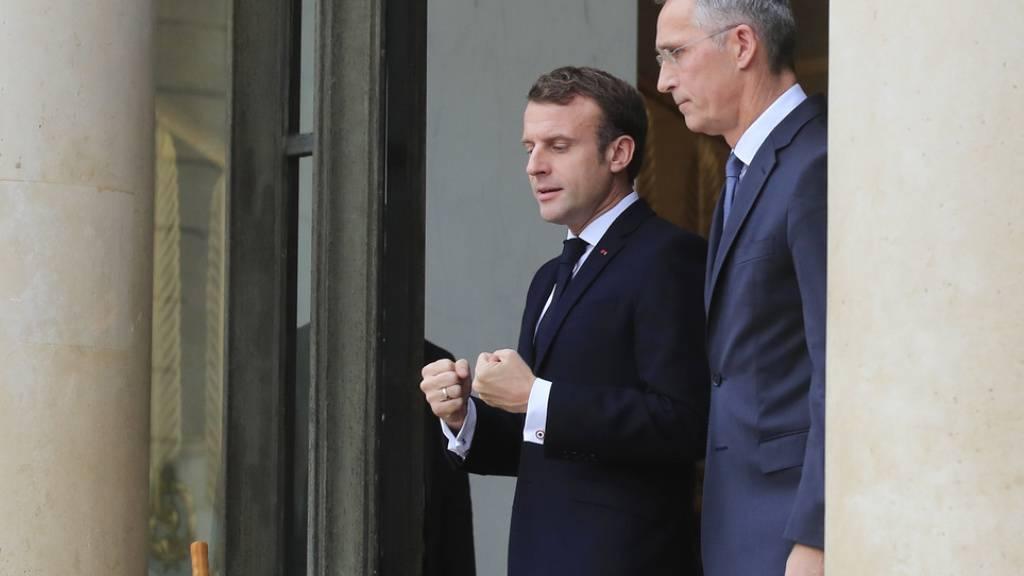 Macron wirbt vor Nato-Gipfel für enge Abstimmung mit Russland