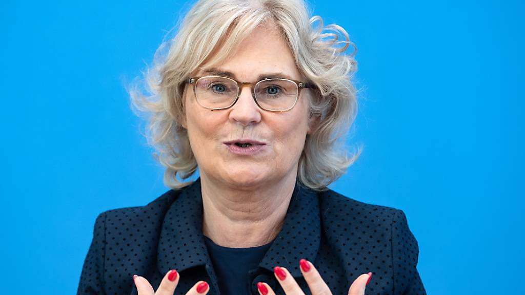 Christine Lambrecht (SPD), Bundesjustizministerin. Foto: Bernd von Jutrczenka/dpa