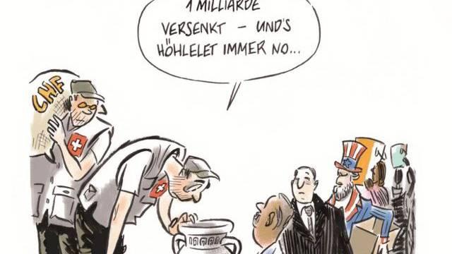 Karikatur: Bischof