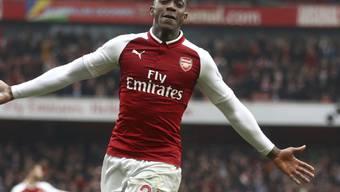 Doppeltorschütze für Arsenal: Danny Welbeck