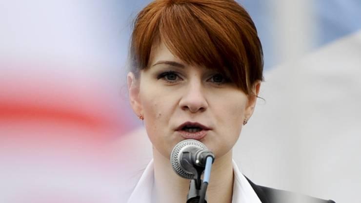 Die in den USA wegen illegaler Agententätigkeit zu 18 Monaten Haft verurteilte Russin, Maria Butina, soll noch diese Woche freikommen. (Archivbild)