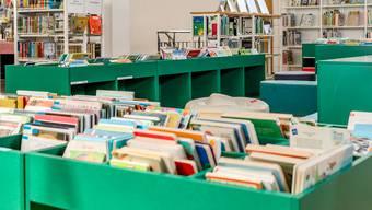 Die Schätze der Gemeindebibliothek Wettingen. Quelle: BAD