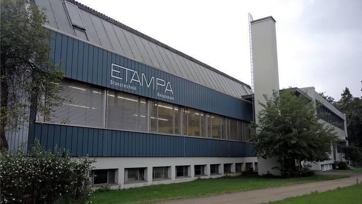 Der heutige Firmensitz der Etampa an der Solothurnstrasse.