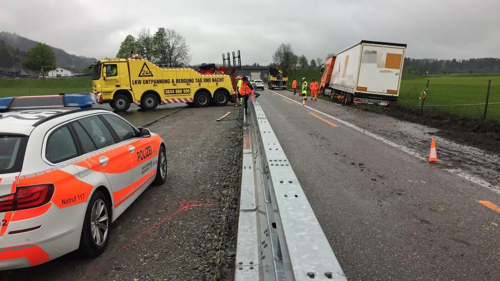 Lastwagen war 40 statt 25 Tonnen schwer
