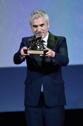 Regisseur Alfonso Cuarón gewann für «Roma» den Goldenen Löwen des Filmfestivals von Venedig.