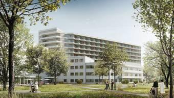Brugger Metron gewinnt Wettbewerb für Spital Uster