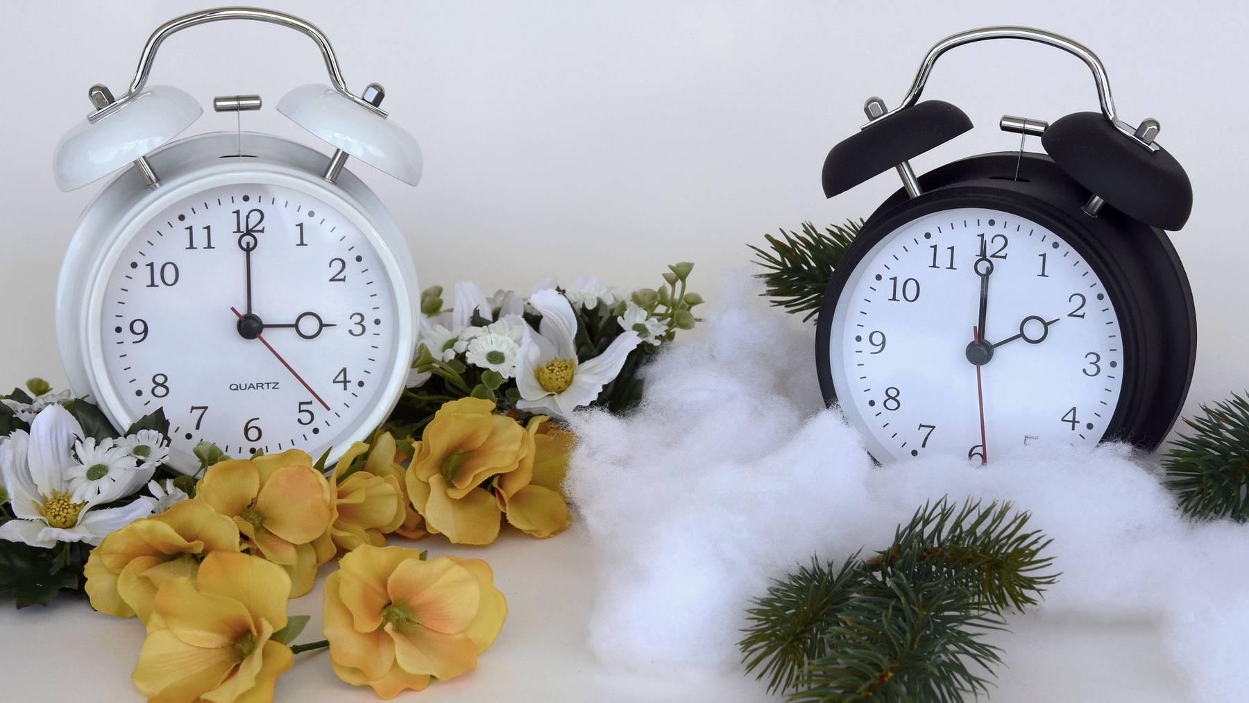 Zeitumstellung Uhren Saison