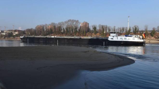 Seit einem halben Jahr klagen die Logistikdienstleister über Wassermangel im Rhein. Nun müssen sie Sparmassnahmen treffen. Foto: Juri Junkov