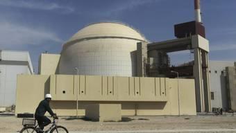 Der Atomreaktor von Busher am Persischen Golf (in einer Aufnahme vom Oktober 2010).