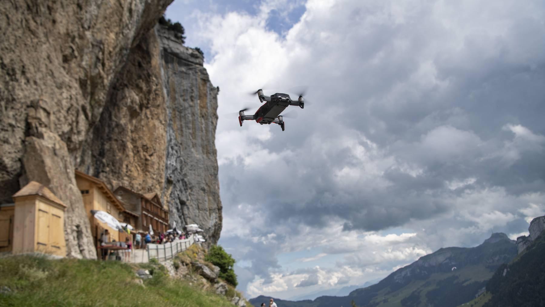 Die Drohnen-Problematik im Alpstein hat im Sommer 2020 zugenommen.