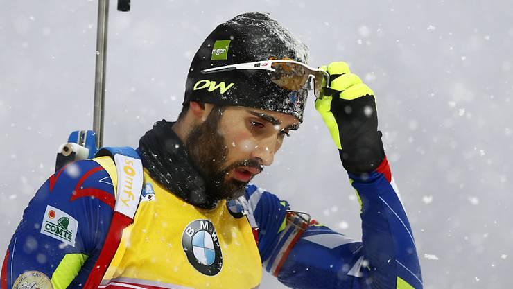 Der im Gesamtweltcup führende Franzose Martin Fourcade (47) gewinnt zum Auftakt der Biathlon-Weltcuprennen im kanadischen Canmore den Sprint über 10 km