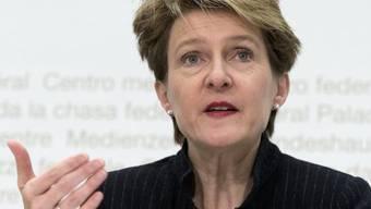 Bundesrätin Simonetta Sommaruga (Archiv)