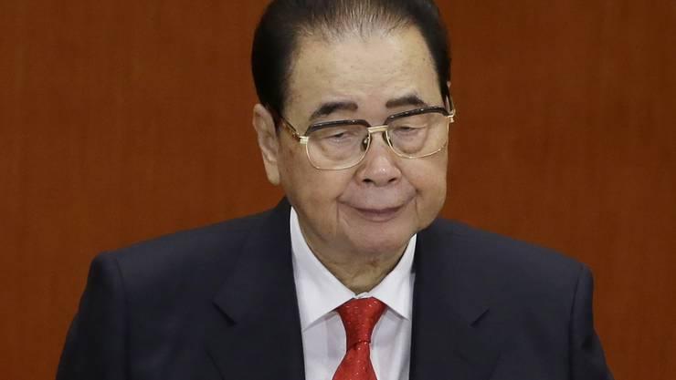 Chinas Ex-Regierungschef Li Peng gestorben (Archiv)