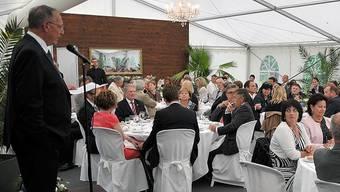 FVRZ-Präsident Reinhard Zweifel feierte mit 130 geladenen Gästen.