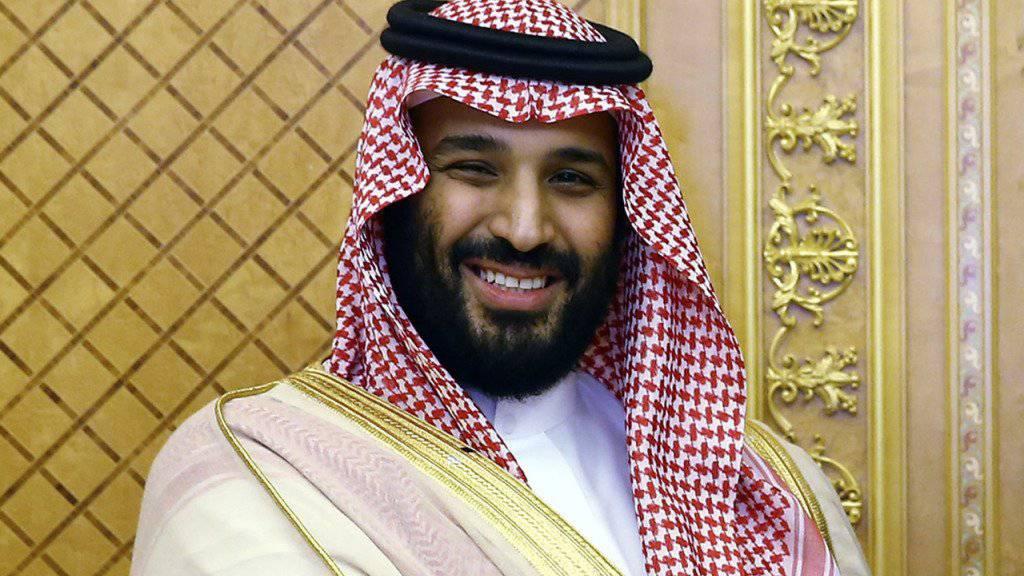 Der neue saudiarabische Kronprinz Mohammed bin Salman festigt offenbar seine Macht - Verhaftungen von hochrangigen Politikern in Saudi-Arabien. (Archivbild)
