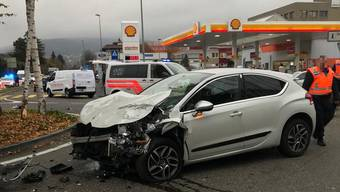 Vier Verletzte bei Unfall in Reinach