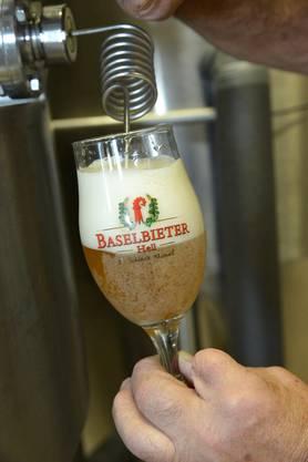 Das Bier sei schon fast perfekt.
