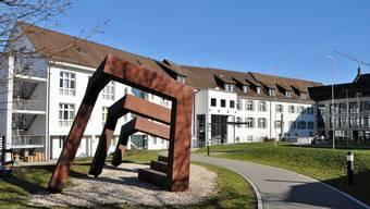 Das Asana-Spital in Leuggern, aufgenommen am 16. März 2019.