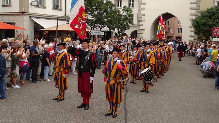 Über 300 ehemalige Gardisten hielten an der Zentraltagung in Baden ihre Generalversammlung ab.