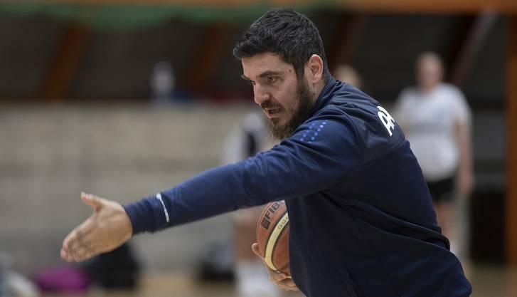 Trainer Velko Evgenievski geht in seine vierte Saison mit dem BC Alte Kanti Aarau.
