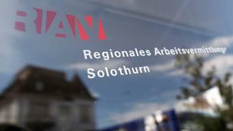 2865 Personen im Kanton Solothurn waren im Oktober als arbeitslos gemeldet.