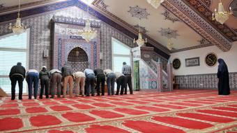 Die Moschee in Wohlen. (Symbolbild/Archivbild)