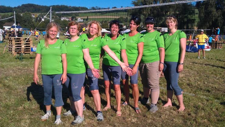 : Doris Hohl, Brigitte Bircher, Claire Christen,  Marlen Intrass, Jessica Graf, Monika Schuler, Petra Hilfiker