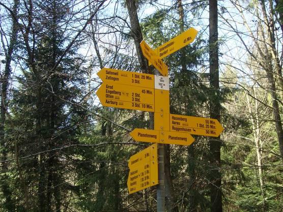 """Punkt Tann 502 m (""""Es führen viele Wege nach Rom"""")"""