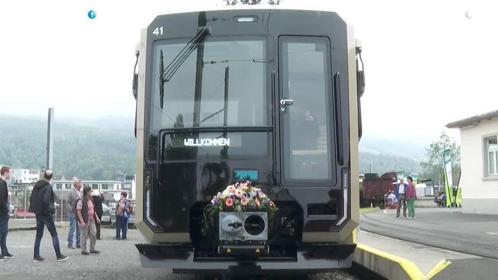 Einweihung neuer Rigibahn-Wagen