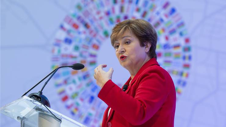 Die neue Währungsfonds-Chefin Kristalina Georgieva im Vorfeld der aktuellen Jahrestagung. Bild: Erik S. Lesser/EPA (Washington, 8. Oktober 2019)